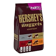 HERSHEY'S NUGGETS Assorted Chocolate Candy, Bulk, 31.5 oz, Party Bag (HEC01878)