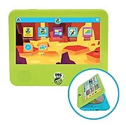 "PBS Kids Playtime Pad DVD Combo 7"" Tablet, 1GB RAM, 16GB, Android 7.1.1, Green (PBDV704DVDB)"