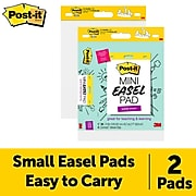 """Post-it® Self-Stick Easel Pads, 15"""" x 18"""", 20 Sheets/Pad, 2 Pads/Pack (577SS-2PK)"""