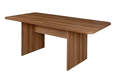Niche Mod 6' Conference Table with No Tools Assembly in Warm Cherry (NCT6834WC)