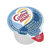 Coffee-mate French Vanilla Liquid Creamer, 0.38 Oz., 180/Box (35070)