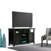 """Simpli Home Amherst 54""""W TV Stand in Black (AXCAMH-TV-BL)"""