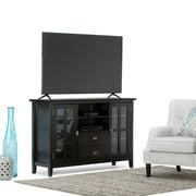 "Simpli Home Artisan 53""W TV Stand in Black (AXCHOL005-BL)"