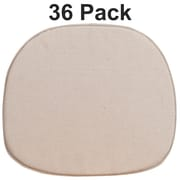 Flash Furniture Natural Thin Cushion Set of 36 (36XUTHIN)