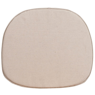 Flash Furniture Natural Thin Cushion (XUTHIN)