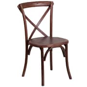 Flash Furniture Mahogany Cross Back Accent Chair (XUXMAH)