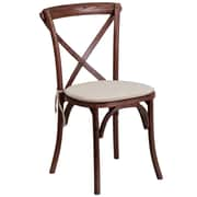 Flash Furniture Mahogany Cross Back Accent Chair (XUXMAHNTC)