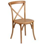 Flash Furniture Oak Cross Back Accent Chair (XUXOAK)