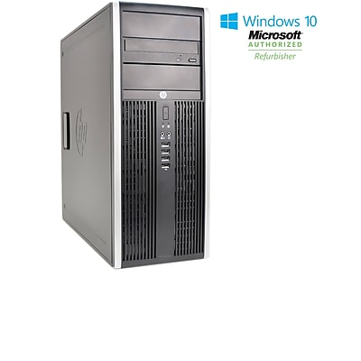 Refurbished HP 8300 Tower Core I5 3470 3.2GHz 16GB 240GB Solid State Drive DVDRW Windows 10 Pro