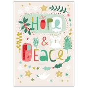 RSVP Hope and Peace Boxed Holiday Cards