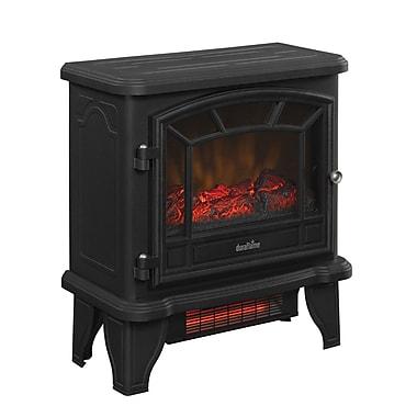 Duraflame Freestanding Infrared Quartz Fireplace Stove, Black (DFI-550-22)