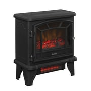 Duraflame Freestanding Infrared Quartz Fireplace Stove, Black (DFI-550-22)