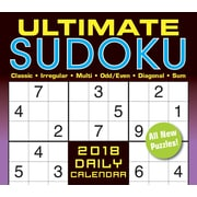 "2018 Sellers Publishing, Inc. 5"" x 6"" Ultimate Sudoko Boxed Daily Calendar  (CB0270)"