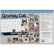 "2018 Sellers Publishing, Inc. 17"" x 11"" Grumpy Cat® Desk Pad Planner Calendar (CD0292)"