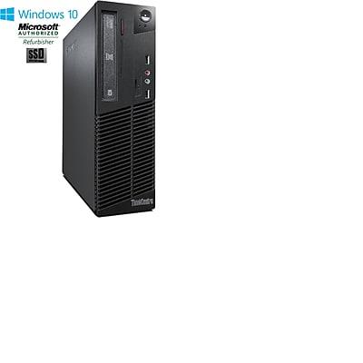 Lenovo M72 Small Form Factor Core I3 3220 3.3GHz 8GB 128GB Solid State Drive DVDRW Windows 10 Pro