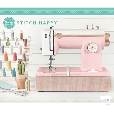 We R Memory Keepers Pink Stitch Happy Multi Media Sewing Machine US Adaptor (WR663036)