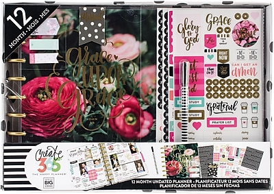 Me & My Big Ideas Have Faith Create 365 Planner Box Kit (BOX115)