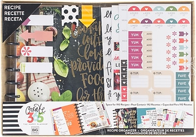 Me & My Big Ideas Cooking Create 365 Planner Box Kit (BOX122)