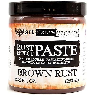 Prima Marketing Brown Finnabair Art Extravagance Rust Effect Paste, 8.45oz (AERP-64696)