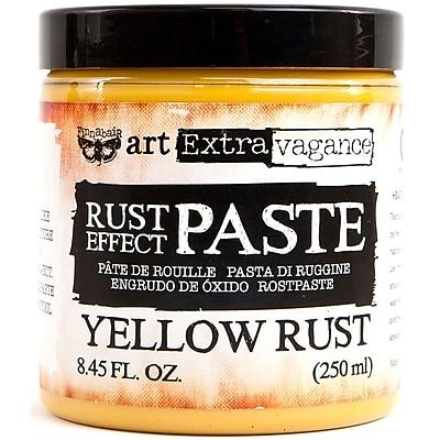 Prima Marketing Yellow Finnabair Art Extravagance Rust Effect Paste, 8.45oz (AERP-64733)