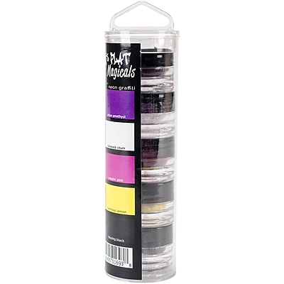 Lindy's Stamp Gang Neon Graffiti Flat Magicals .25oz, 5/Pkg (MAG-FLAT-7)