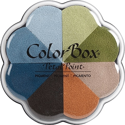 Clearsnap Boardwalk ColorBox Pigment Petal Point Ink Pad, 8 Colors (080000-08040)