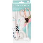 We R Memory Keepers Stitch Happy Scissors, 2/Pkg (WR660393)
