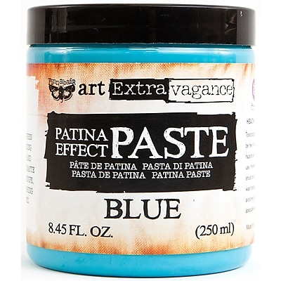 Prima Marketing Blue Finnabair Art Extravagance Patina Effect Paste, 8.45oz (AEPP-64740)