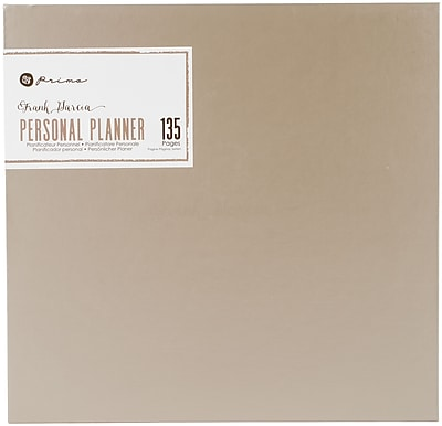 Prima Marketing Frank Garcia My Prima A5 Planner, 9.375