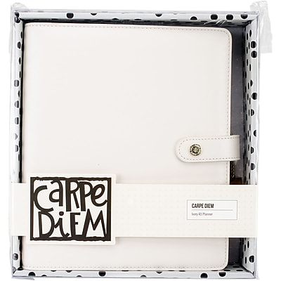 Simple Stories Ivory Carpe Diem A5 Planner (SSCDA5-4937)