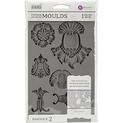 Prima Marketing Baroque #2 Iron Orchid Designs Vintage Art Decor Mould (814786)