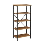 "Linon Austin Bookcase, 4-Shelf, 54"" H (862255ASH01U)"