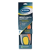 Dr. Scholl's Pain Relief Orthotic Heavy Duty Support Insoles, Men Sizes 8-14, 2/Pair