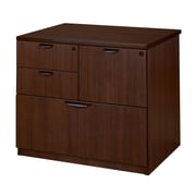 Legacy Lateral Combo File, 4  Drawers, Java Laminate (LPCL3124JV)