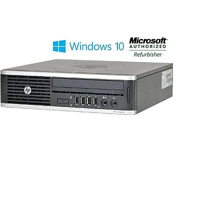 Refurbished HP 8200 Ultra Small Form Factor Core I5 2400 3.1ghz 4GB 250GB DVD Windows 10 Pro Mar (CNB1-8700)