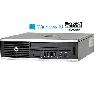 Refurbshed HP 8300 Ultra Small Form Factor Core I5 3470 3.2ghz 8GB 500GB DVD Windows 10 Pro Mar (CNB1-8731)