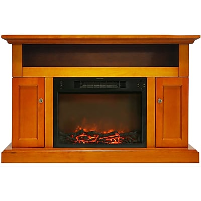 Cambridge Sorrento Electric Fireplace with 1500W Log Insert and 47