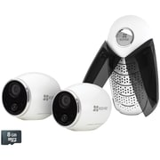 EZMINTRPB2G8 Mini Trooper HD Smart Home Security System with 2 Cameras