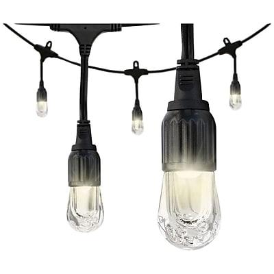 Enbrighten Cafe 31663 Classic LED Café Lights (36ft; 18 Acrylic Bulbs)