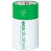 EcoAlkalines D EcoAlkaline Batteries, 12 pk (ECOD12A)