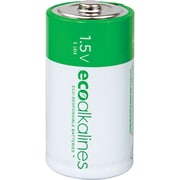 EcoAlkalines C EcoAlkaline Batteries, 2 pk (ECOC2A)