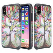 SumacLife Wishing Tree Slim Back Cover Case Dual Layer For iPhone X (APLCRC847)