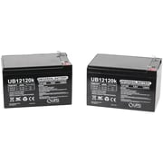 UPG Sealed Lead-Acid Batteries, 12V, 12Ah, UB1212, 2 pk (86917)