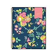 """2022 Blue Sky Day Designer Peyton Navy 8.5"""" x 11"""" Weekly & Monthly Planner, Multicolor (103617-22)"""