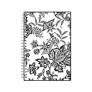 """2022 Blue Sky 5"""" x 8"""" Weekly & Monthly Planner, Barcelona, Black/White (100003-22)"""