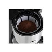 Salton Jumbo Java 14 Cups Automatic Drip Coffee Maker, Silver/Black (FC1667)