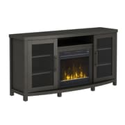 "ClassicFlame Rossville TV Stand for TVs up to 60"" with Electric Fireplace, Tifton Oak (18MM6036-PO96S)"