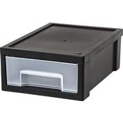 IRIS® Desktop Stacking Drawer, Small, Black (150084)