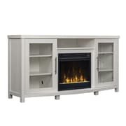 """ClassicFlame Rossville TV Stand for TVs up to 60"""" with Electric Fireplace, White (18MM6036-PT85S)"""