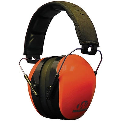 Walker's Game Ear Dual Color Passive Muff, Blaze Orange (GWP-DCPM-BO)